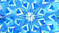 Blue diamonds background Stock Footage