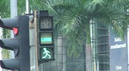 Stock Video Footage of Traffic light, Kuala lumpur