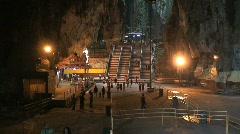 Batu caves, Kuala lumpur,Malaysia Stock Footage