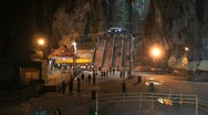Stock Video Footage of batu caves, Kuala lumpur,Malaysia