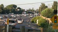 Traffic highway  metering  Stock Footage