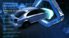 CyberCar Stock Footage