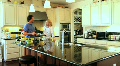 Luxury Home Kitchen Scene HD Footage