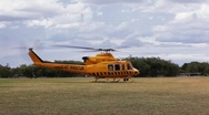 Stock Video Footage of RAC Rescue Helicopter