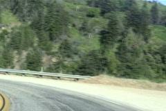 Cabrillo highway POV driving shot V7 - NTSC Stock Footage