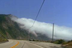 Cabrillo highway POV driving shot V2 - NTSC Stock Footage