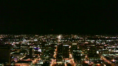 Phoenix Helicopter Downtown Stock Footage