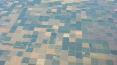 Farm Land Aerial 1 Stock Footage