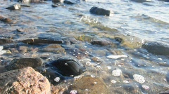water rocks 2 - stock footage