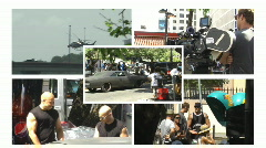 Collage - Fast n Furious Fast 5 - stock footage