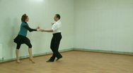 Stock Video Footage of Dance of the young couple