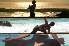 Yoga montage V1 - NTSC - stock footage