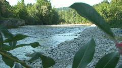 A river runs through 1 Stock Footage