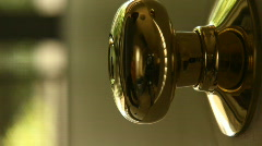 Key Unlock Open Door Light Stock Footage