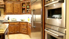 Custom Kitchen Remodel - stock footage