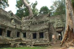 CAMBODIA-TA PROHM TEMPLES 7 Stock Footage
