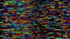 Bricks blocks background,big data information art wall,storage technology. Stock Footage