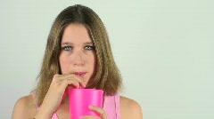 Teenage Beauty Stock Footage