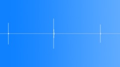 Switch, click plastic x3 - sound effect