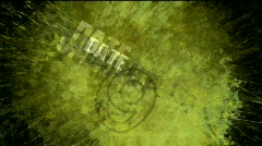 Abstract pop art noise explosion background,splash number&word paint traces. Stock Footage