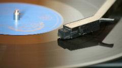 Turntable Vinyl Player Stock Footage