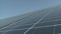 Solar power station Stock Footage