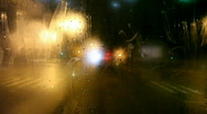 Steamy Rear Window Stock Footage
