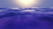 Cirrus Sunrise Clouds Stock Footage