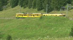 Cog railway wengen Stock Footage