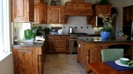 Luxury Home Kitchen 5 Stock Footage