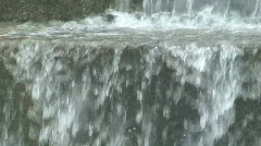 fountain water close up - stock footage