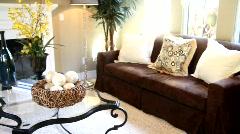 Luxury Home Living Room 2 Stock Footage