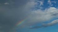 Rainbow Ribbons Stock Footage