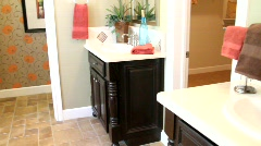 Luxury Home Master Bath 2 - stock footage
