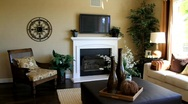 Spacious Living Room Stock Footage
