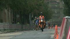 Inline race 3 Stock Footage