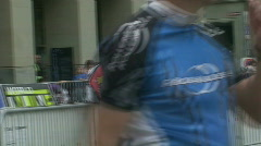 Inline race 4 Stock Footage