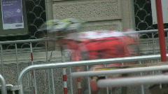 Inline race 6 Stock Footage