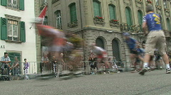 Inline race 7 Stock Footage