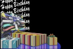 2514 Happy Birthday Presents Stock Footage