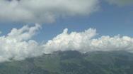 Mountains time lapse Stock Footage
