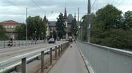 Roll on bridge Stock Footage