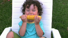 Yummy Corn   Full HD 1080p Stock Footage