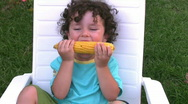 Stock Video Footage of Yummy Corn   Full HD 1080p