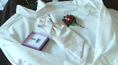 Wedding Suit Stock Footage