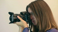 Stock Video Footage of Photographer Shooting Female