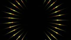 Microwave halo pattern,neon lights science future radiation energy scan data. Stock Footage