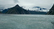 Stock Video Footage of Alaska glacial ice floating P HD 8321