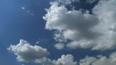 clear sky - stock footage