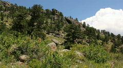 Mountain Hillside  Stock Footage